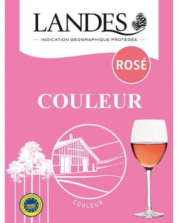 BIB IGP Landes Rosé 5 litres