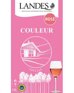 BIB IGP Landes Rosé 10 litres