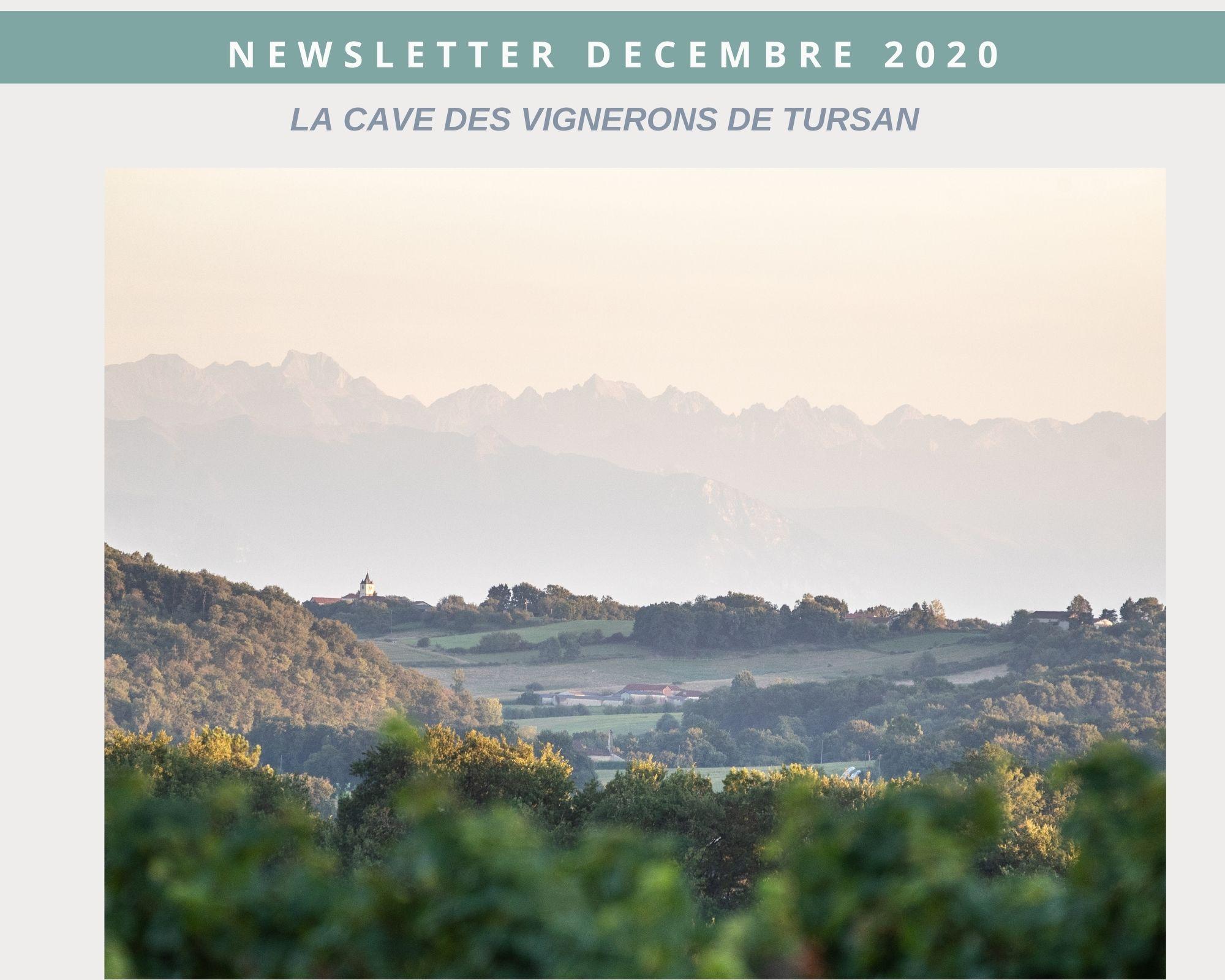 Newsletter Tursan Landes décembre 2020