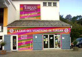 geaune, vitrine des vins des landes